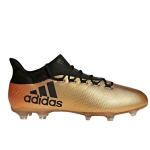 new style 7d491 548bf Details about Adidas X17.2 Fg Gold/Black Soccer Shoes ( CP9186 ) Mens Size  10