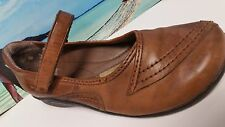 Earth Origins Remy  On Maryjane Shoes Leather Womens Casual Shoes Low Heel 8.5 M