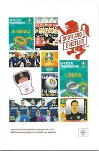 SCOTLAND EPISTLES FOOTBALL MAGAZINE #15 - TARTAN ARMY FANZINE / MAGAZINE