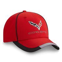 C7 Corvette Red Performance Hat