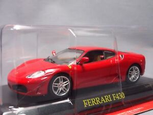 Ferrari-Collection-F430-1-43-Scale-Box-Mini-Car-Display-Diecast-vol-62