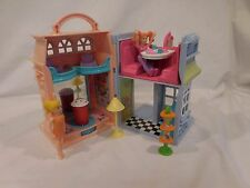 Fisher Price Sweet Street Candy Shop Dance Studio Dollhouse Furniture People Lot