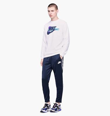 Nike Men/'s Sportswear NSW Tape Yellow Black Track Pants AR1613-752 NWT