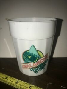 Vintage-White-Kings-Dominion-034-Avalanche-034-Rollercoaster-Cup-Sterling-Products