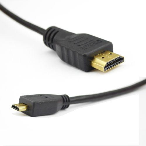 Premium 3M Lang Micro HDMI auf HDMI Kabel Kabel für Tesco Hudl /& Hudl 2 HDTV