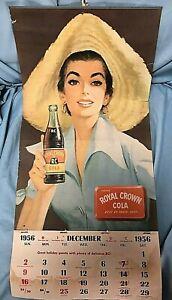 LUCILLE-BALL-ORIG-1956-CALENDAR-FROM-HER-I-LOVE-LUCY-DESILU-STUDIO-DRESSING-ROOM