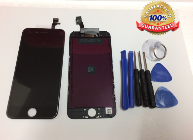 For iPhone 6 BLACK Assembly OEM Quality Display LCD Digitizer Screen Replacement