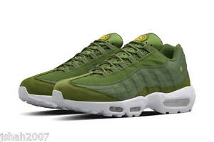 san francisco 9f0c0 305bb Image is loading 2015-STUSSY-X-NIKE-AIR-MAX-95-OLIVE-