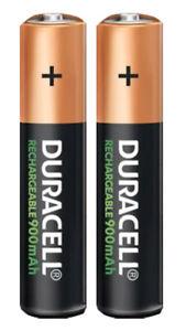 2x-Duracell-Power-Akkus-Accus-AAA-Micro-900mAh-fuer-Gigaset-A400-A415-A415A-A400A