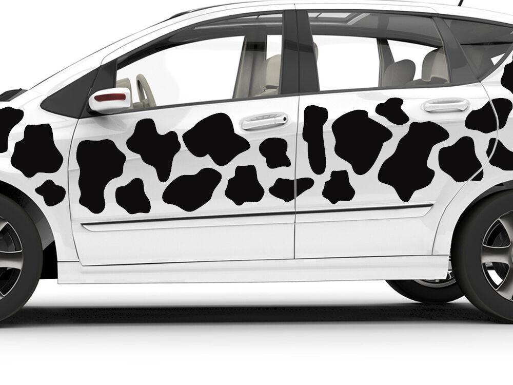 Pegatinas auto adhesivos tatuaje set para coche kuhflecken vacas manchas