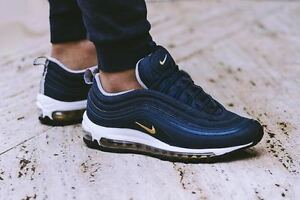 f5e9c6c82ce3d nike air max 97 blue gold brand new in box last pair s uk 4   5