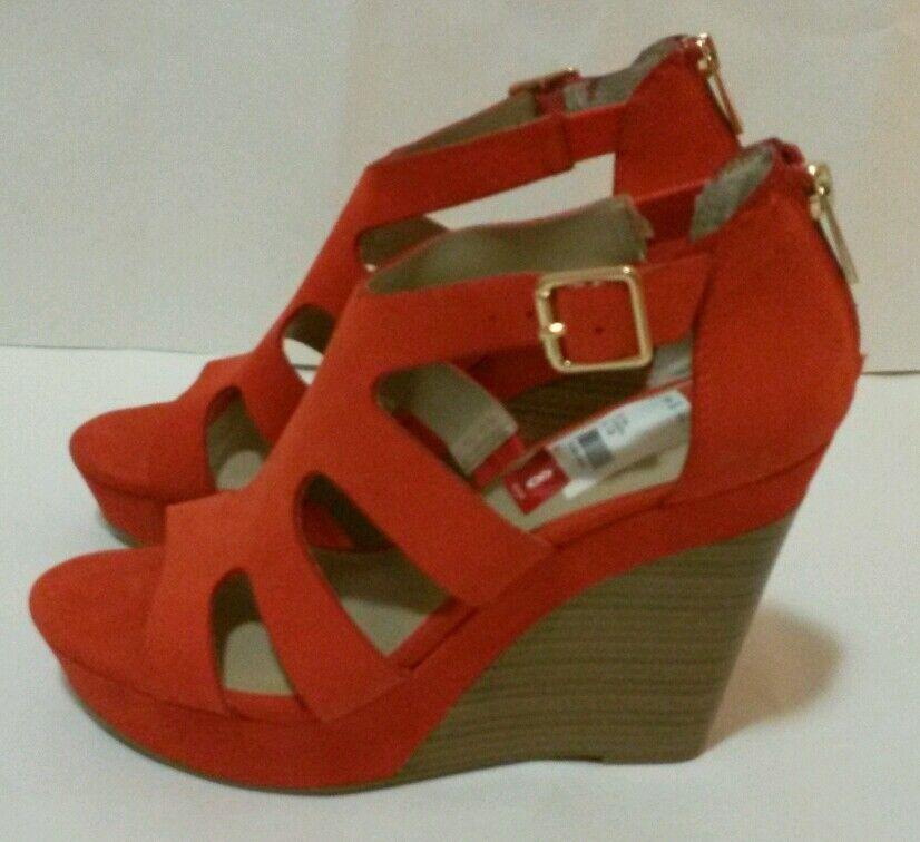 INC International Concepts Women's shoes, Cassandra Cassandra Cassandra Platform Wedge Sandals 8 M b5a4a5