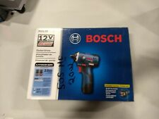 Bosch PS22-02 12-Volt 1//4-Inch 2.0Ah Max 2-Speed Brushless Pocket Driver Kit