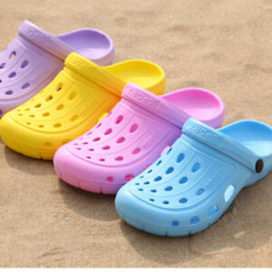 Women-Ladies-Slip-On-Hollow-Rubber-Water-Garden-Breathable-Outdoor-Clogs-Sandals
