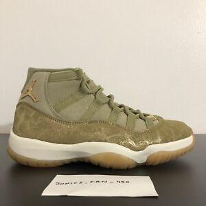 030e1c71e5db7 Nike Air Jordan 11 RETRO AR0715-200 WMNS  OLIVE LUX  Size 8.5