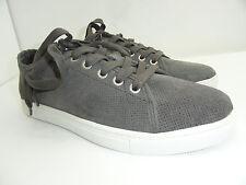 Calvin Klein Jeans Men's Hartman Grey Suede Fashion Sneakers Size 7