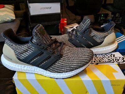 separation shoes bdf92 e07e7 Adidas Ultra Boost M LTD Dark Mocha 4.0 Khaki Trace Raw Gold Core Black  BB6170 | eBay
