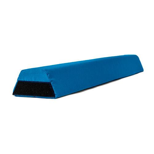 bluee Foam Gymnastics Balance Beam 1.2M Water Resistant Outdoor Material Velcro