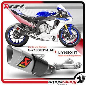 Image Is Loading Akrapovic For Yamaha YZF R1 M 2015
