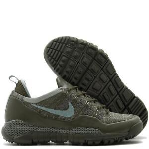 c130cc80a0e2c9 Men s Nike Lupinek Flyknit Low Running Shoes 882685 300 Cargo Khaki ...
