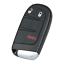 Fits Dodge Journey M3N-40821302 3 Button Remote Car Key 433MHz 2011-2017