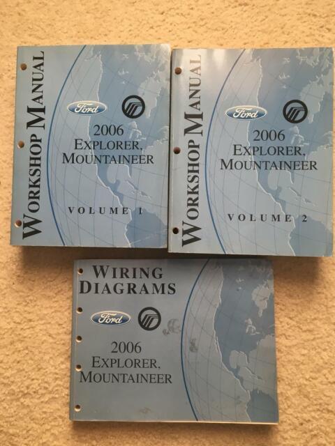 2006 Ford Explorer Mountaineer Workshop Manual  U0026 Wiring