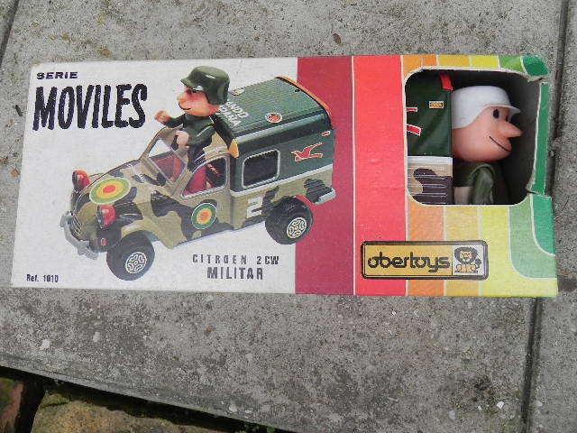 Citroen 2 CV MILITARE - OBERTOYS - art. 1010