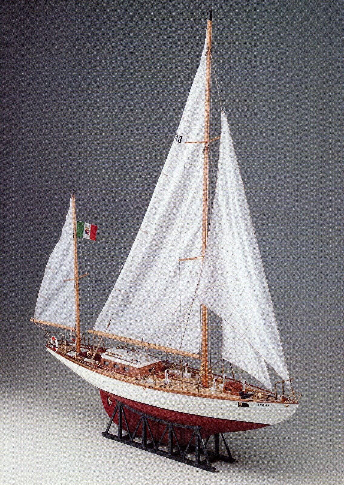 grandes ahorros COREL SM26 BARCA Modello CORSARO II Nave scuola Marina Marina Marina Militare Italiana 1 24  El nuevo outlet de marcas online.