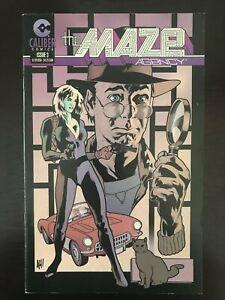 Maze-Agency-3-first-printing-original-1997-Adam-Hughes-Caliber-Comic-Book