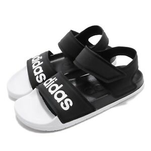 best website 5897b b8b01 Caricamento dellimmagine in corso adidas-Adilette -Sandal-Black-White-Men-Women-Slip-