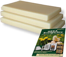 2 Platten (~10kg) Rupfwachs allerhöchster Qualitätsgüte --- @@@HEKA: Art. 30140