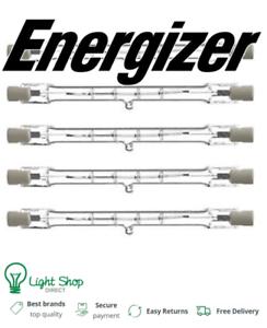ENERGIZER 120w 160w 300w 400w Energy Saving Tungsten Halogen R7s Bulb 78mm 118mm