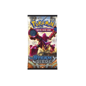 Trading Card Game Pokemon XY Steam Siege Sealed Booster Pack XY-11 TCG Cards