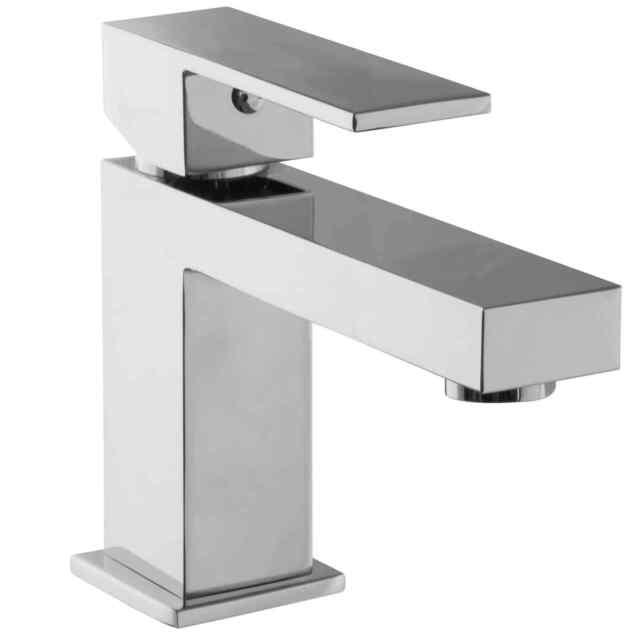 Waschtisch Armatur Einhandmischer Wasserhahn Eckig Paulgurkes Ebay