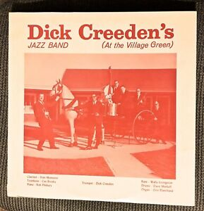 DICK-CREEDEN-039-s-Jazz-Band-At-the-Village-Green-1967-Dareco-LP