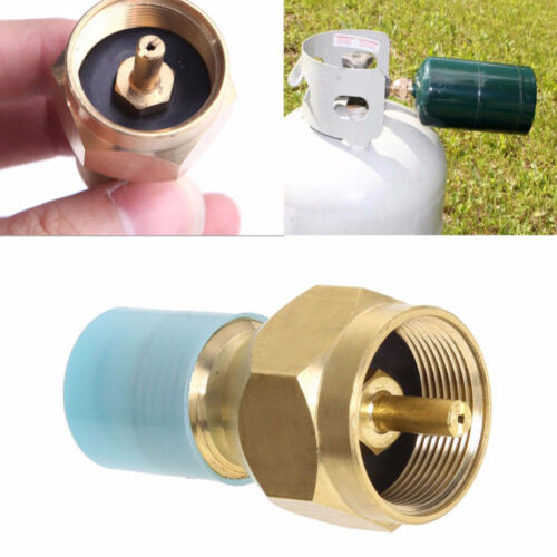 Tanks Connector Propane Gas Cylinder Tanks Outdoor Stove For BBQ Refill Adapters