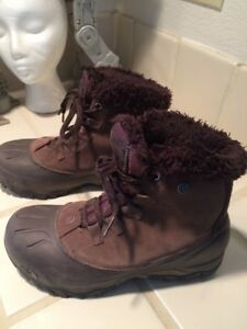 d616db245 Details about The North Face Brown Heat Seeker Waterproof Insulated Hiking  Boots Sz US 7 EU 38