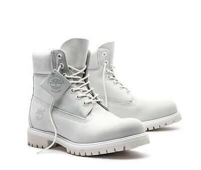 Timberland 6' Premium Waterproof Boots Limited Release Ghost White TB0A1M6Q