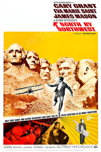 Posters USA North By Northwest Movie Poster Glossy Finish MCP431