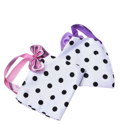 Polka Dot Hangbag for  Doll Fashion Bag Kids Toy  Doll AccessoriesS!