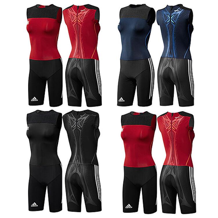 Adidas AdiPOWER Powerweb Suit Leichtathletik Weightlifting Einteiler Anzug Women