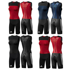 30e85a81b6a7 Image is loading Adidas-Adipower-Wl-Suit-Weightlifting-Athletics-Jumpsuit- Suit-