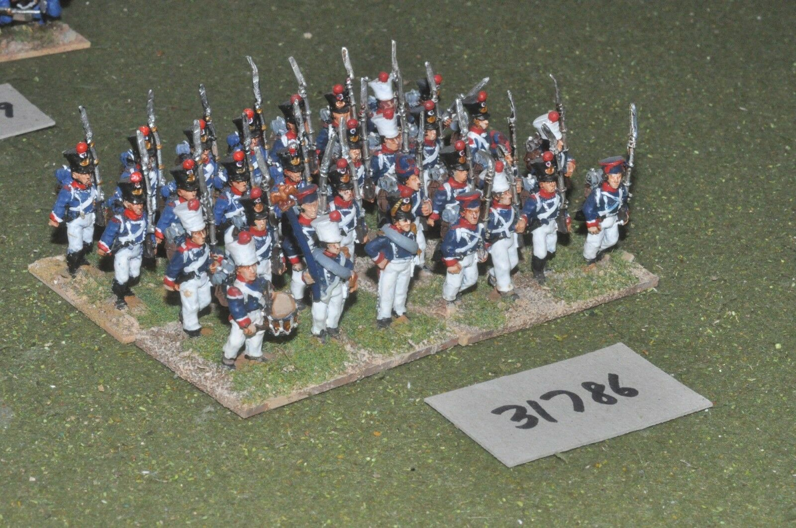 25mm napoleónicas francés-Guard 31 figuras-INF (31786)