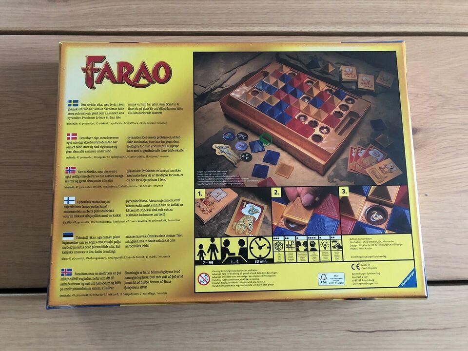 NYT uåbnet Faraos pyramider, Skattejagt (familiespil),