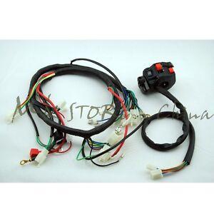 engine ac wiring harness 150cc 250cc pit quad dirt bike atv