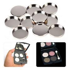 10x Eyeshadow Empty Round Tin Pans Palette Pressing the Eye Shadow Blush Powder