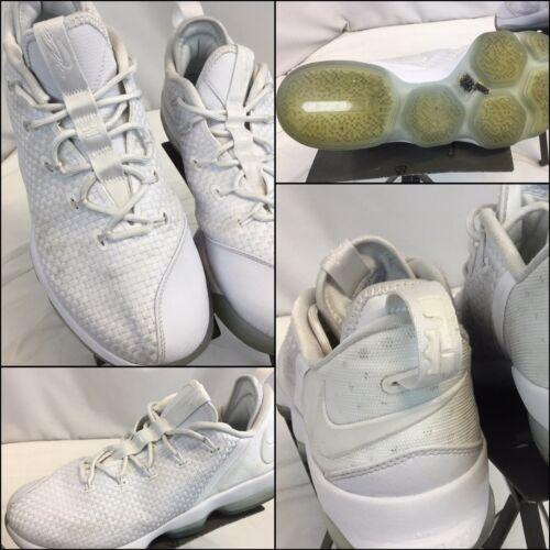5 Worn Lebron Sz 14 B9s 3 Zapatos White Low 4 10 James Ice Nike Ygi 21 Times qXWRBnR
