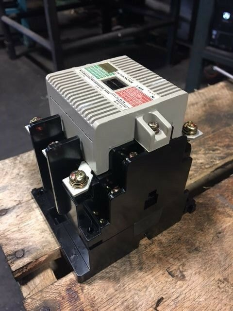 Mitsubishi Magnetic Contactor, TypeS-K95, 100-127V Coil, Used, Warranty