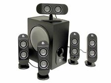 Logitech X-530 5.1-Channels Dolby Digital PC Surround Sound Speaker w/Subwoofer