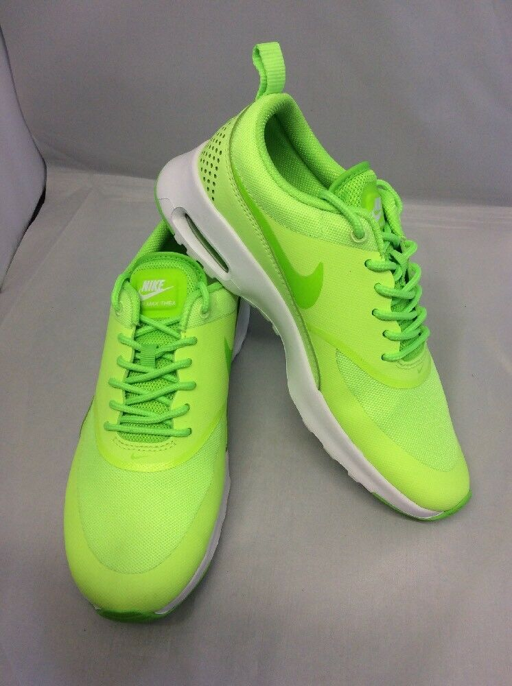 NEW femmes NIKE AIR MAX THEA LIME GREEN TRAINERSSIZE 4130